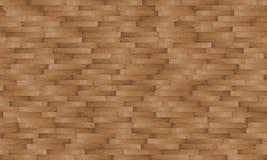 Struttura senza cuciture del raccordo di legno - casuale Immagini Stock