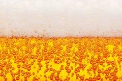 Struttura senza cuciture della birra Fotografie Stock Libere da Diritti