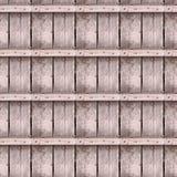 Struttura senza cuciture della foto di vecchie plance del legname immagine stock