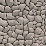 Struttura senza cuciture della parete di pietre illustrazione di stock