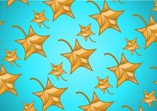 Struttura senza cuciture delle foglie di acero royalty illustrazione gratis