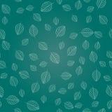 Struttura senza cuciture delle foglie semplici Fotografie Stock Libere da Diritti