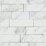 Struttura senza cuciture di marmo bianca del fondo Immagine Stock