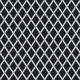 Struttura senza cuciture di metallo ondulato. Vettore Fotografia Stock Libera da Diritti