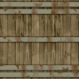 Struttura senza cuciture di noleggi generata barilotto di legno royalty illustrazione gratis