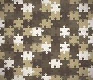 Struttura senza cuciture di puzzle. Illustrazione Vettoriale