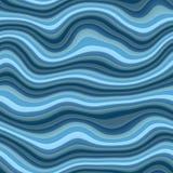 Struttura senza cuciture di Wave 3D Immagini Stock Libere da Diritti