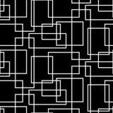 Struttura senza cuciture geometrica con restangle bianco royalty illustrazione gratis