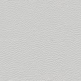 Struttura senza cuciture grigio chiaro del cuoio sintetico Fotografia Stock Libera da Diritti