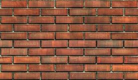 Struttura senza cuciture indossata scura del fondo del muro di mattoni Fotografie Stock