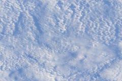 Struttura senza cuciture tileable della neve Fotografia Stock