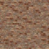Struttura senza giunte del muro di mattoni Fotografie Stock Libere da Diritti