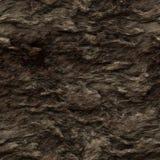 Struttura senza giunte della roccia di colore marrone scuro illustrazione di stock