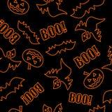 Struttura senza giunte per Halloween Immagini Stock