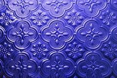 Struttura senza giunte variopinta Fondo di vetro Forme di vetro floreali dell'estratto del modello della parete della decorazione Immagine Stock Libera da Diritti