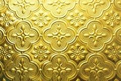 Struttura senza giunte variopinta Fondo di vetro Forme di vetro floreali dell'estratto del modello della parete della decorazione Immagine Stock
