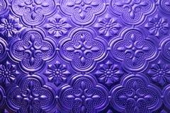 Struttura senza giunte variopinta Fondo di vetro Forme di vetro floreali dell'estratto del modello della parete della decorazione Fotografia Stock