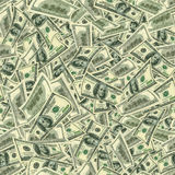 Struttura senza giunture dei dollari come simbolo del profitto Fotografia Stock Libera da Diritti