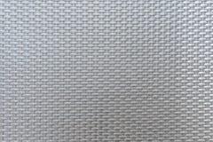 Struttura sintetica grigia del rattan Fotografie Stock