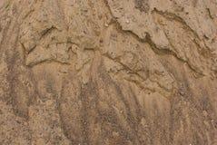 Struttura sopravvissuta della superficie del mucchio della sabbia Immagine Stock Libera da Diritti