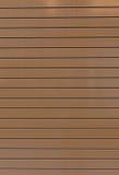 Struttura sottile della porta del garage del pannello di Brown Fotografie Stock