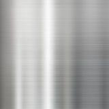 Struttura spazzolata acciaio della superficie di metallo Immagini Stock