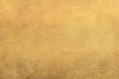 struttura spazzolata del metallo dell'oro Immagine Stock