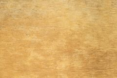 struttura spazzolata del metallo dell'oro Fotografia Stock