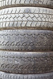 Struttura sporca dei pneumatici Immagini Stock