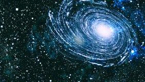 Struttura stellata del fondo dello spazio cosmico Spazio profondo immagini stock