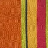 Struttura a strisce del tessuto di colore Fotografie Stock
