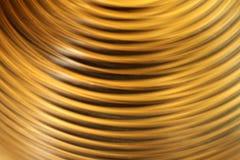 Struttura a strisce gialla del semicerchio Modello del fondo di struttura immagine stock