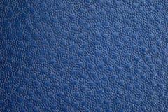 Struttura strutturata blu della pelle Fotografia Stock