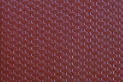 Struttura strutturata marrone rossiccio della pelle Fotografie Stock Libere da Diritti