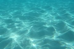 Struttura subacquea dell'oceano fotografie stock
