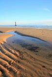 Struttura sulla spiaggia Fotografie Stock Libere da Diritti