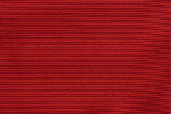 Struttura tessuta rossa Fotografia Stock Libera da Diritti