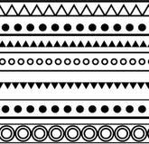 Struttura tribale senza cuciture Fotografia Stock