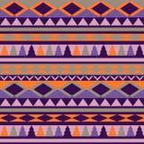 Struttura tribale senza cuciture Reticolo tribale colorful illustrazione vettoriale