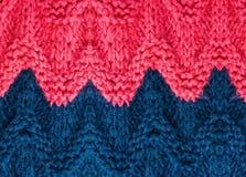 Struttura tricottante di alta risoluzione del fondo.  Tricotti il tessuto di lana Immagine Stock