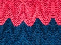 Struttura tricottante di alta risoluzione del fondo.  Tricotti il tessuto di lana Fotografia Stock Libera da Diritti
