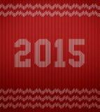 Struttura tricottata 2015 Fotografia Stock