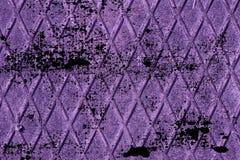 Struttura ultra porpora sporca dell'acciaio inossidabile di lerciume, fondo del ferro per uso del progettista Fotografie Stock Libere da Diritti
