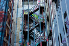 Struttura urbana Fotografia Stock