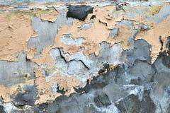 Struttura urbana della parete di lerciume del fondo Immagini Stock