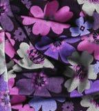Struttura variopinta dei fiori immagine stock