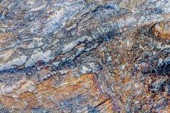 Struttura variopinta del fondo di struttura della pietra del mare Immagini Stock Libere da Diritti