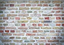 Struttura variopinta del muro di mattoni Immagini Stock
