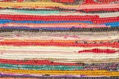 Struttura variopinta del tappeto, tappeto fatto a mano, immagine di sfondo astratta, struttura Fotografia Stock