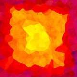 Struttura variopinta irregolare interessante del fondo con giallo rosso Fotografia Stock Libera da Diritti